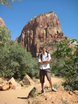 Photo of the Angels Landing
