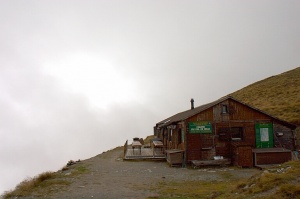 Photo of the Col de Mille Hut