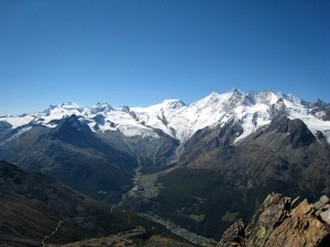 Photo of the Pennine Alps