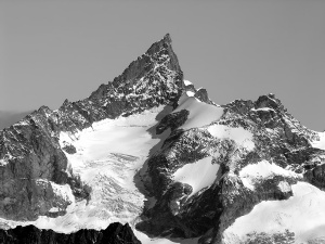 Photo of the Zinal Rothorn