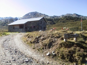 Photo of the Cadagno Hut