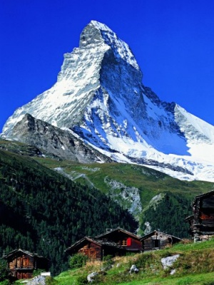 Photo of the Matterhorn